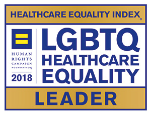 Human Rights Campaign Foundation 2018, Leader in LGBT Healthcare Equality