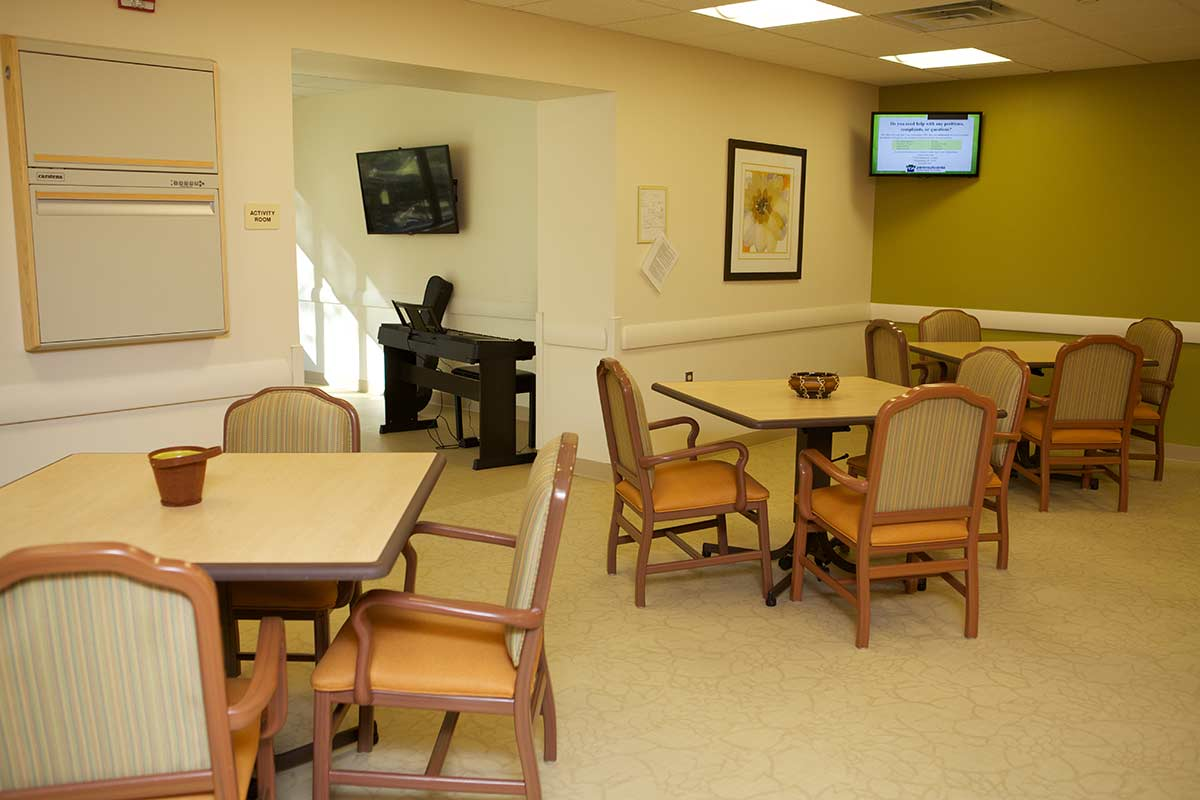 Photo gallery adult day for Activity room