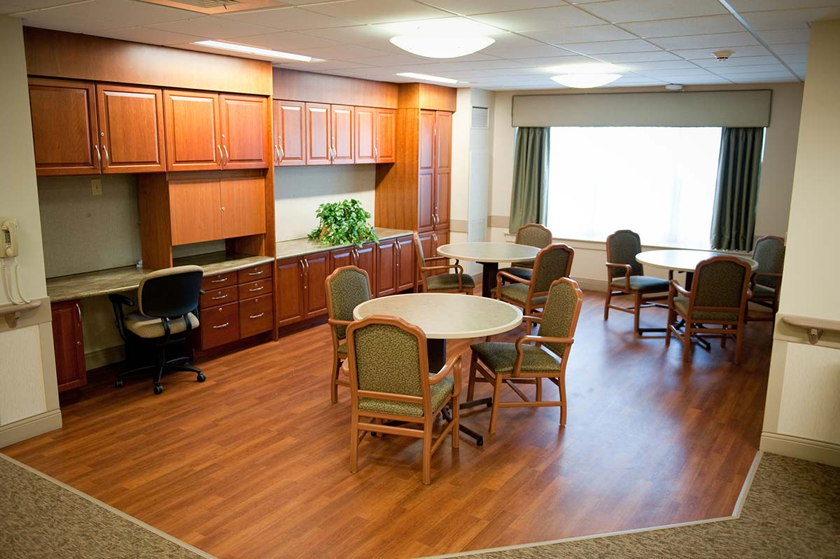 Birnhak Transitional Care Dining Area