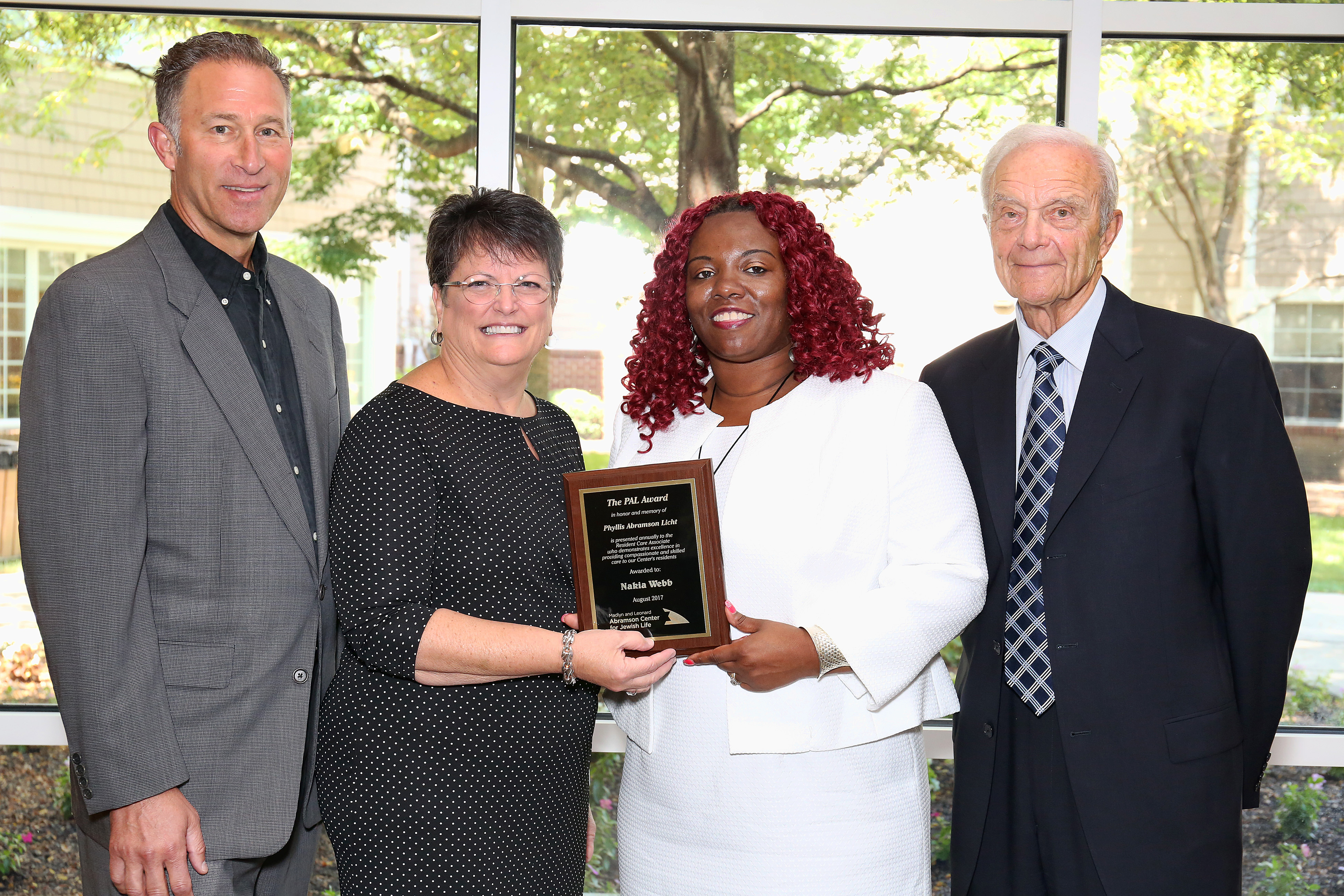 Abramson Center Honors Nursing Assistant for Exceptional Care