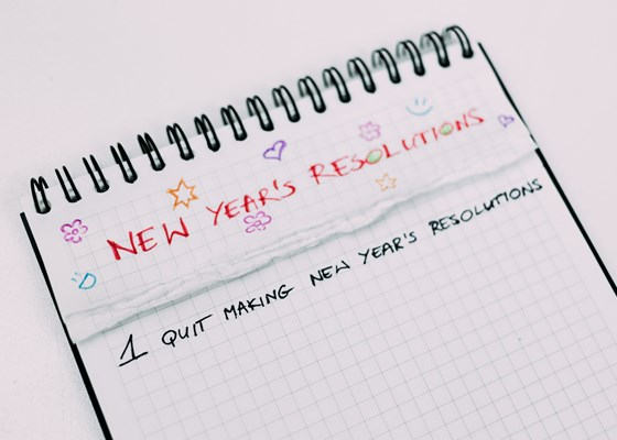 Don't Make A New Year's Resolution