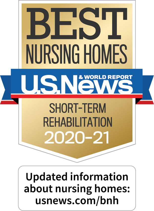 BEST Nursing Homes U.S. News Short-Term Rehabilitation