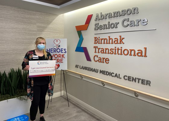 Birnhak Transitional Care at Lankenau Medical Center Helps COVID-19 Patients Return Home Safe